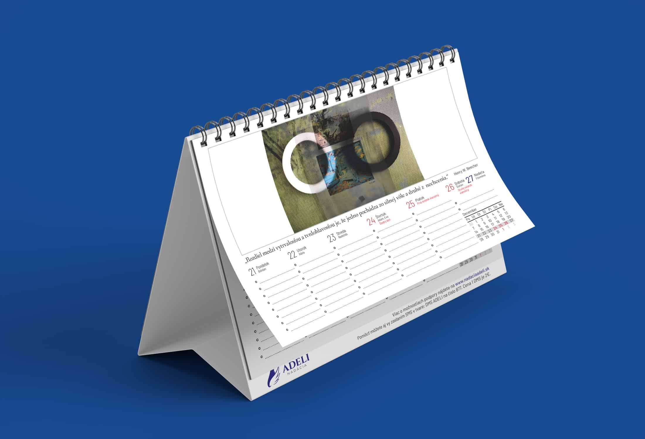 Stolový kalendár 2020