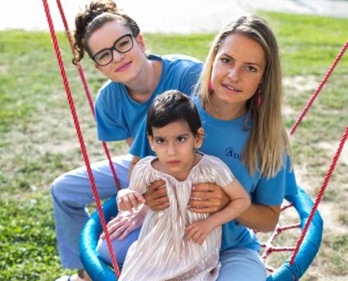 Nadácia ADELI rehabilitácia príbeh Veroniky Vaškovej